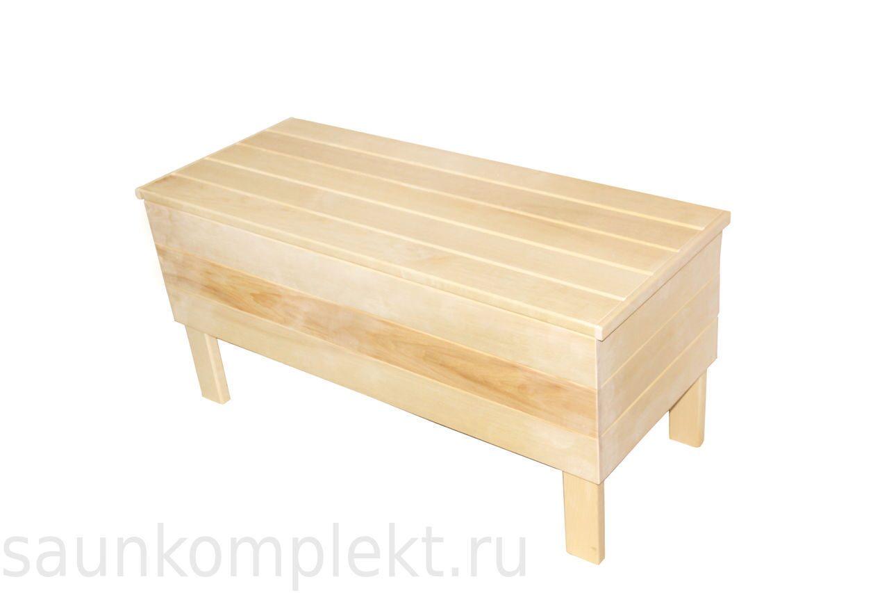 Скамейка для кухни с ящиком своими руками 74